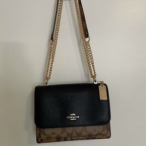 Coach Crossbody/Shoulder Chain Bag Snake Print